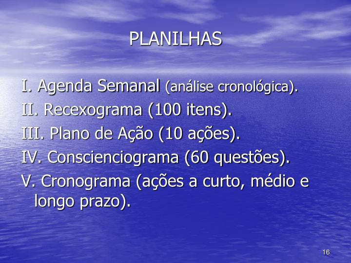 PLANILHAS