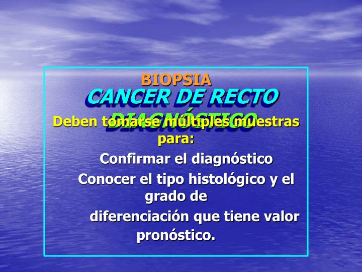 Cancer de recto diagn stico1