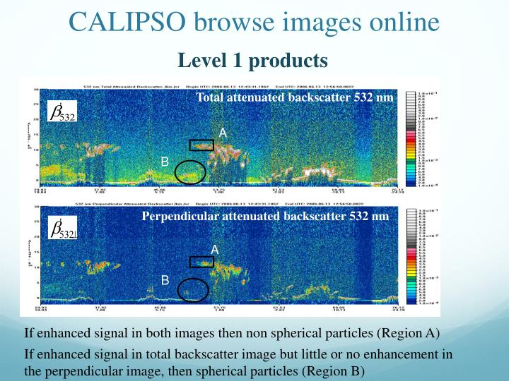 CALIPSO browse images online
