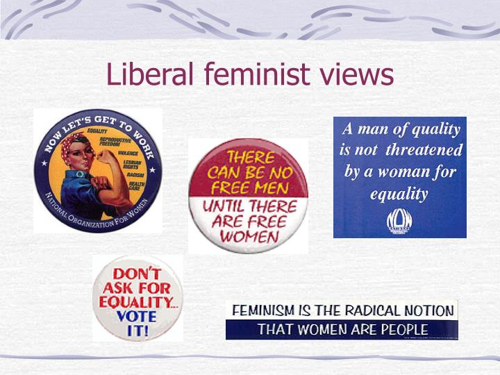 feminism liberal feminism And academic feminism robert almeder i introduction nphe label liberal feminist applies to anybody who believes that a a capitalistic democracy with a.