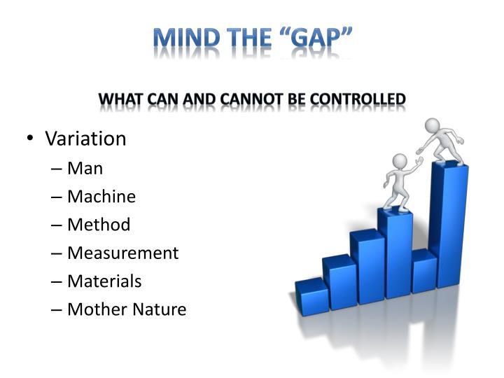 "Mind The ""GAP"""