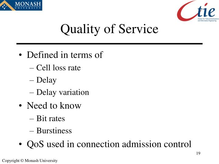 Quality of Service