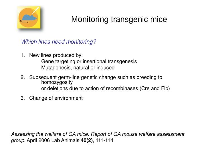 essay on transgenesis Index copernicus value: 6535 cloning & transgenesis covers studies related to biotechnology, cloning and transgenesis and focussing on topics includes cloning-techniques, cloning-vectors, genetically-modified-organism, cybridization, cloning sequencing, transgenesis-xenopus, transgenic plants etc.