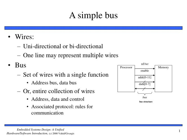 Ppt A Simple Bus Powerpoint Presentation Free Download Id 5685538