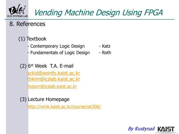 Ppt Lecture 6 Coffee Vending Machine Using Fpga