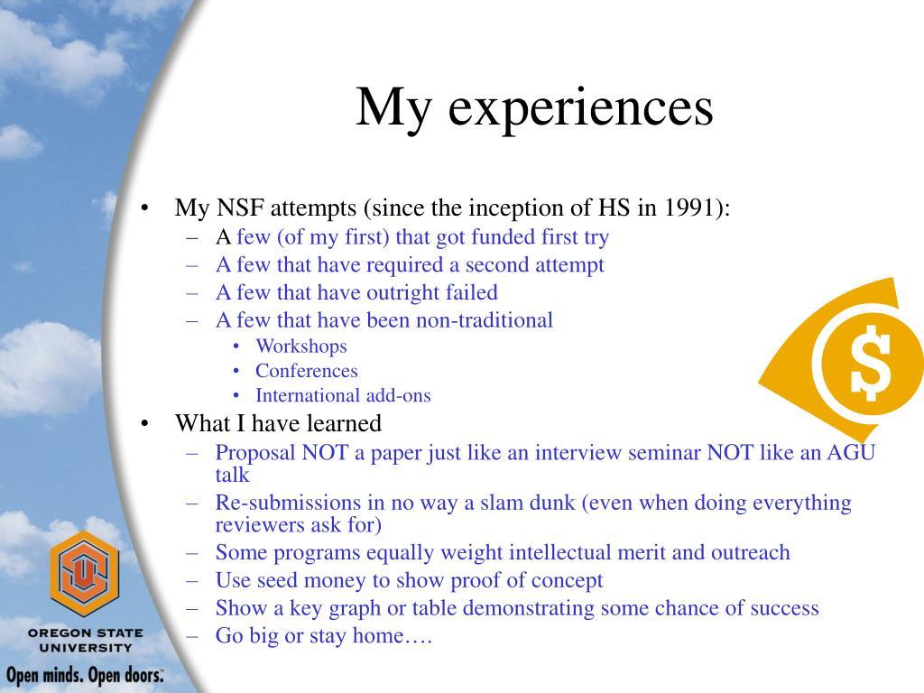 PPT - How to obtain an NSF grant PowerPoint Presentation