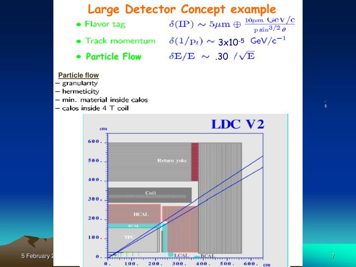 Large Detector Concept example