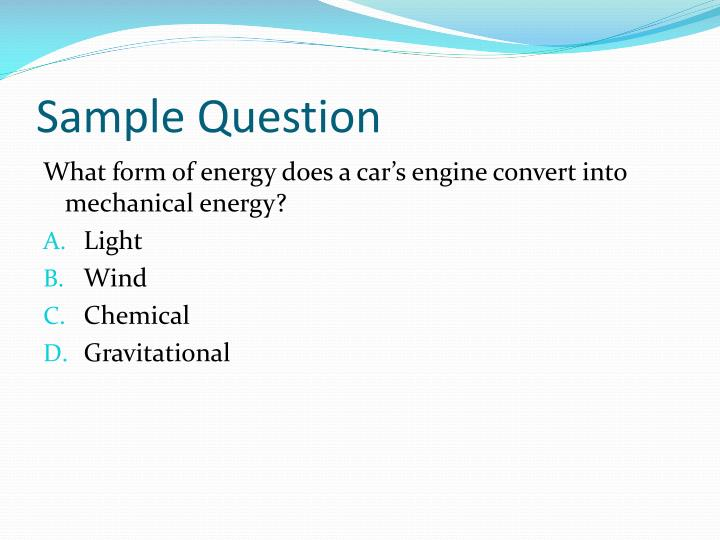 Sample Question