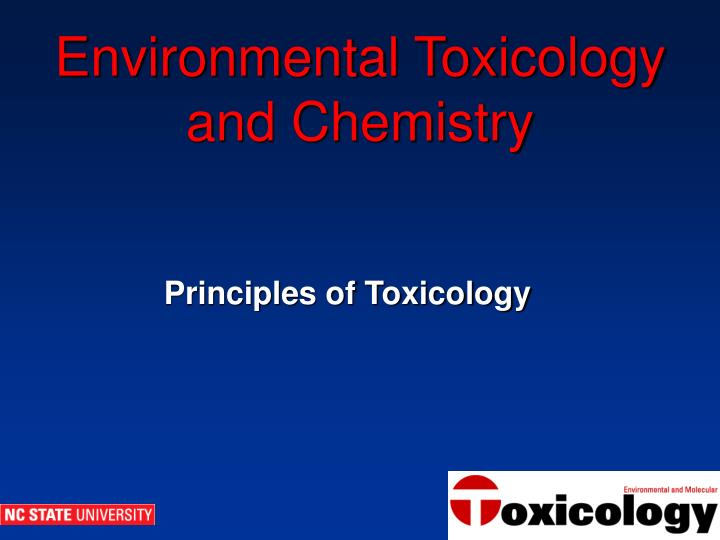environmental toxicology and chemistry n.
