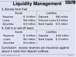 liquidity management2