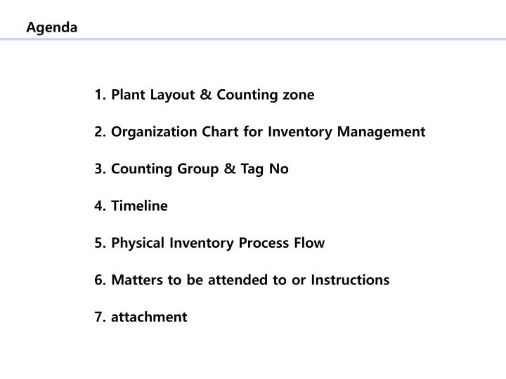 ppt physical inventory counting plan on february 3 powerpoint