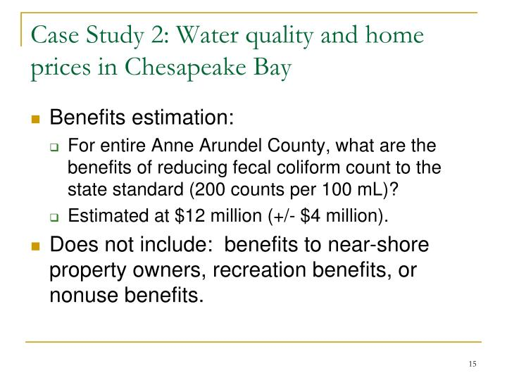 a study of water quality near