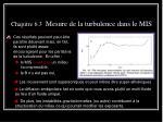 chapitre 6 3 mesure de la turbulence dans le mis12
