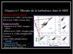 chapitre 6 3 mesure de la turbulence dans le mis3