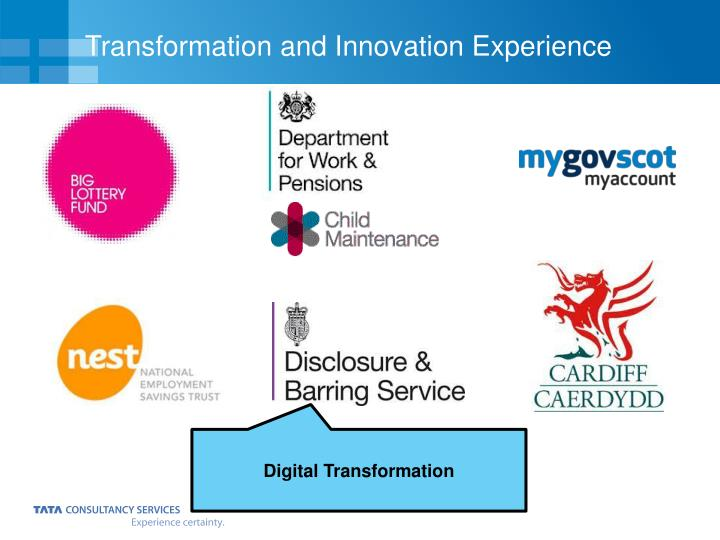 Transformation and Innovation Experience