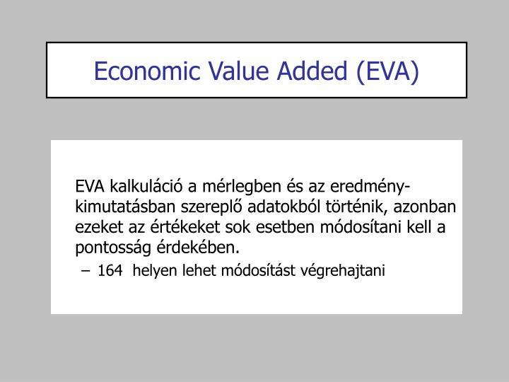 Economic Value Added (EVA)