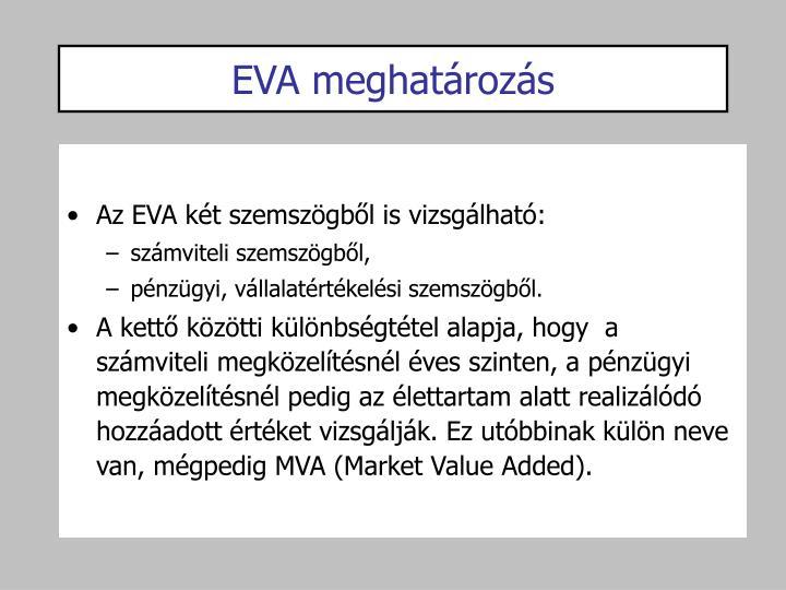 EVA meghatározás