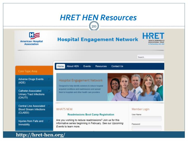 HRET HEN Resources