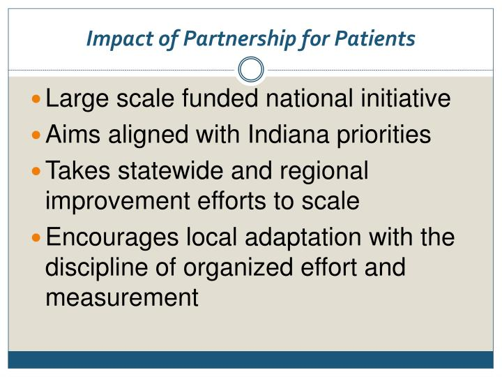 Impact of Partnership for Patients