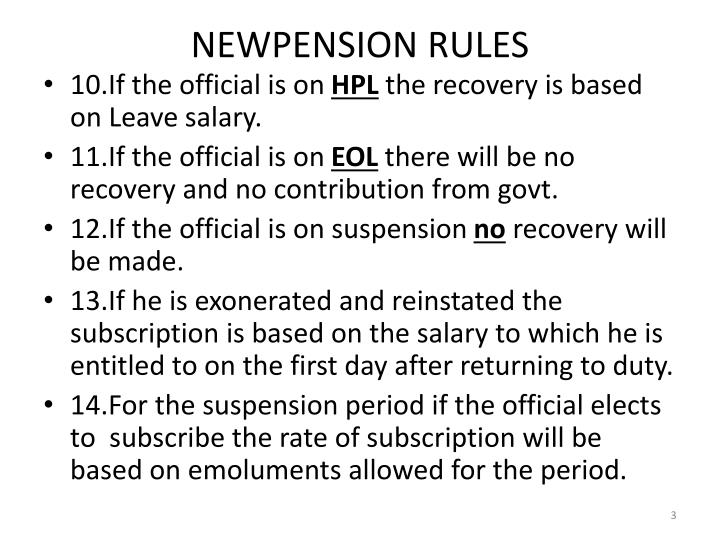 Newpension rules2