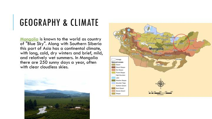 Geography & Climate