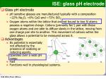ise glass ph electrode