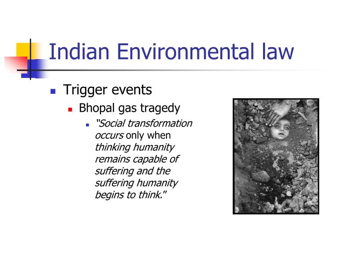 Indian Environmental law