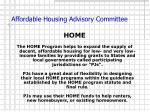 affordable housing advisory committee6