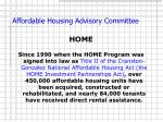 affordable housing advisory committee7
