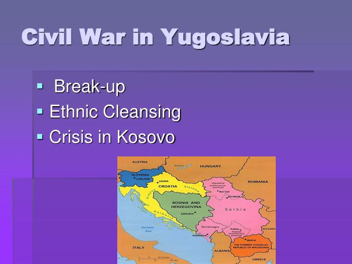 a look at the foundation of the crisis in yugoslavia Marxism, opportunism and the balkan crisis by international committee fourth international 7 may 1994 1 the international significance of the balkan crisis.
