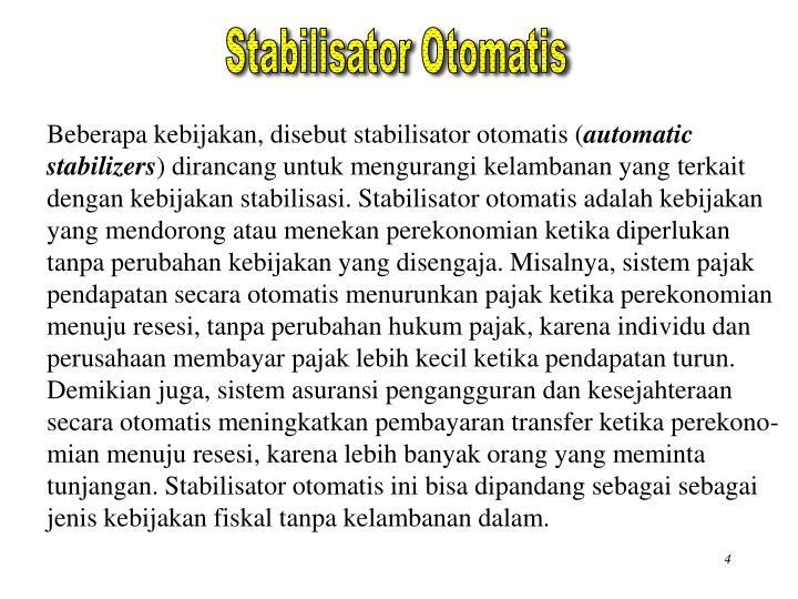 Stabilisator Otomatis