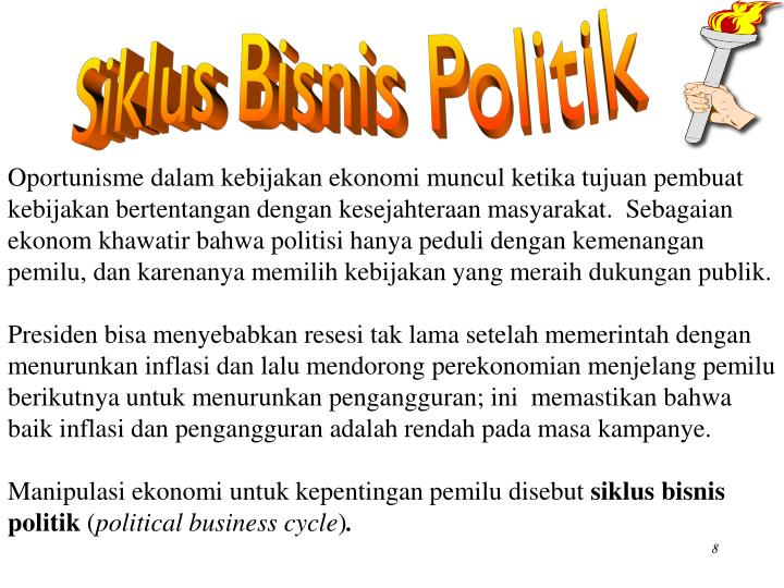 Siklus Bisnis Politik