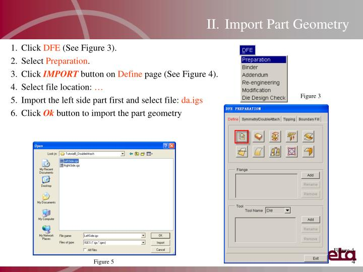 Import Part Geometry
