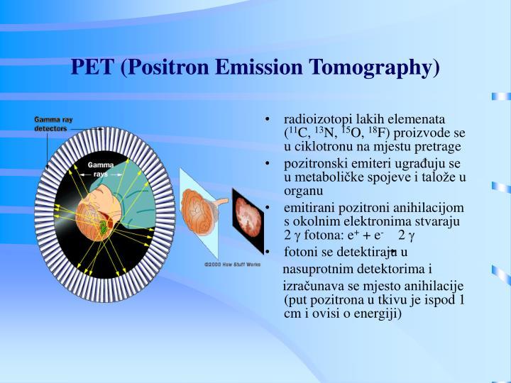 PET (Positron Emission Tomography)