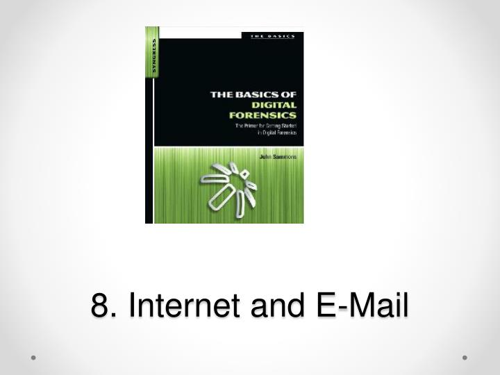 8 internet and e mail n.