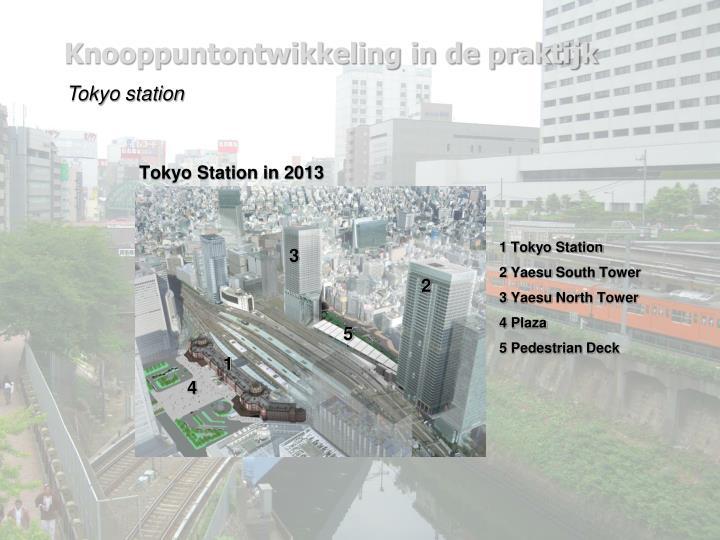 Tokyo Station in 2013