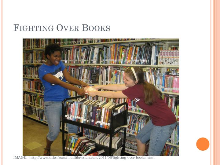 Fighting Over Books