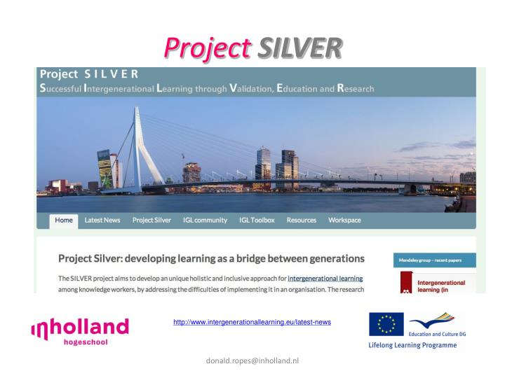 project silver n.