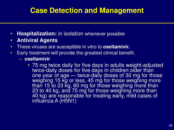 Case Detection and Management