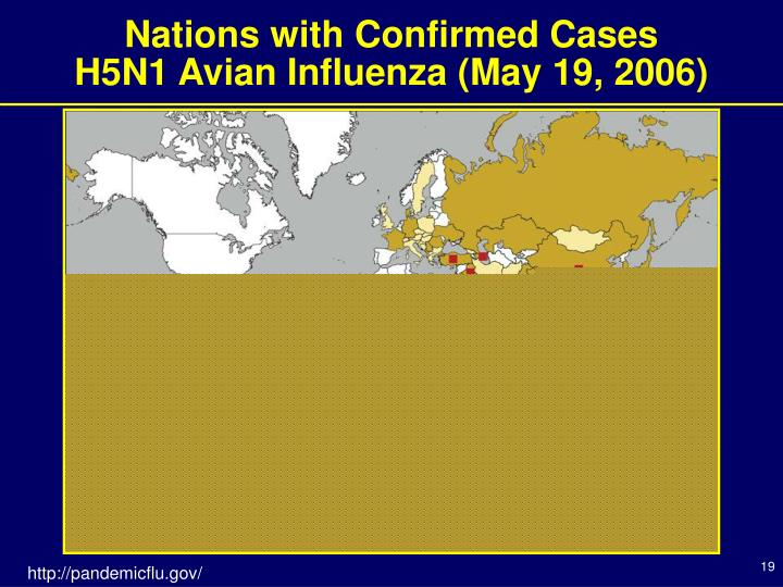 Nations with Confirmed Cases