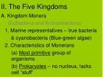 ii the five kingdoms