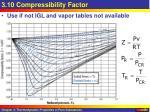 3 10 compressibility factor