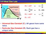 3 9 ideal gas law
