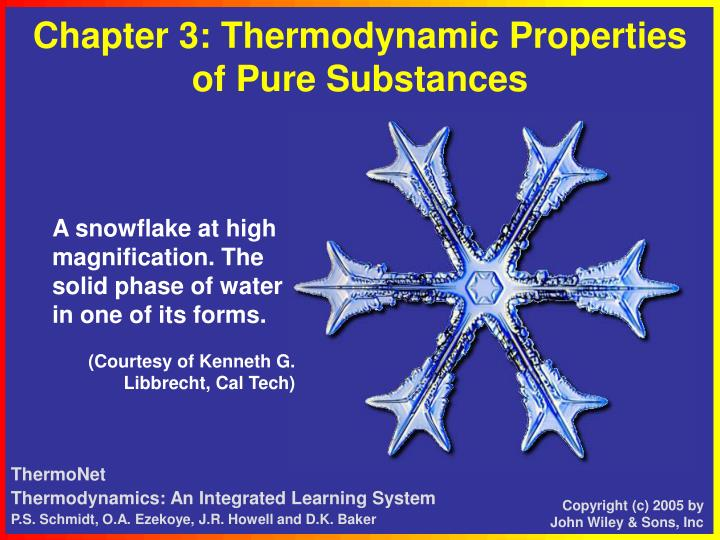 chapter 3 thermodynamic properties of pure substances n.