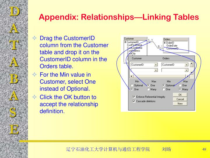 Appendix: Relationships—Linking Tables