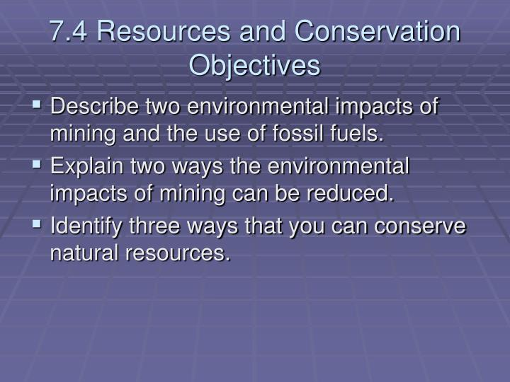 natural resources and its conservation Natural resources natural resources are those things that formed from the biotic and abioytic factors in the atmosphere, and which are used by man for various purposes.