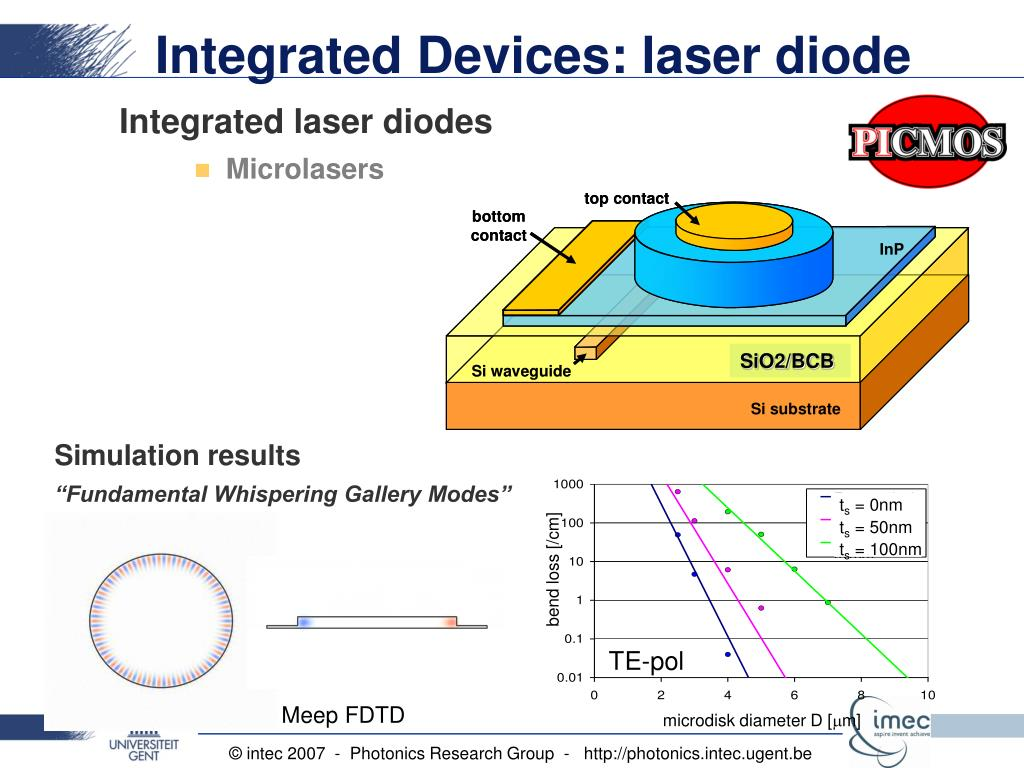 PPT - Heterogeneous Integration of III-V Active Devices on a