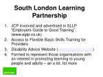 south london learning partnership