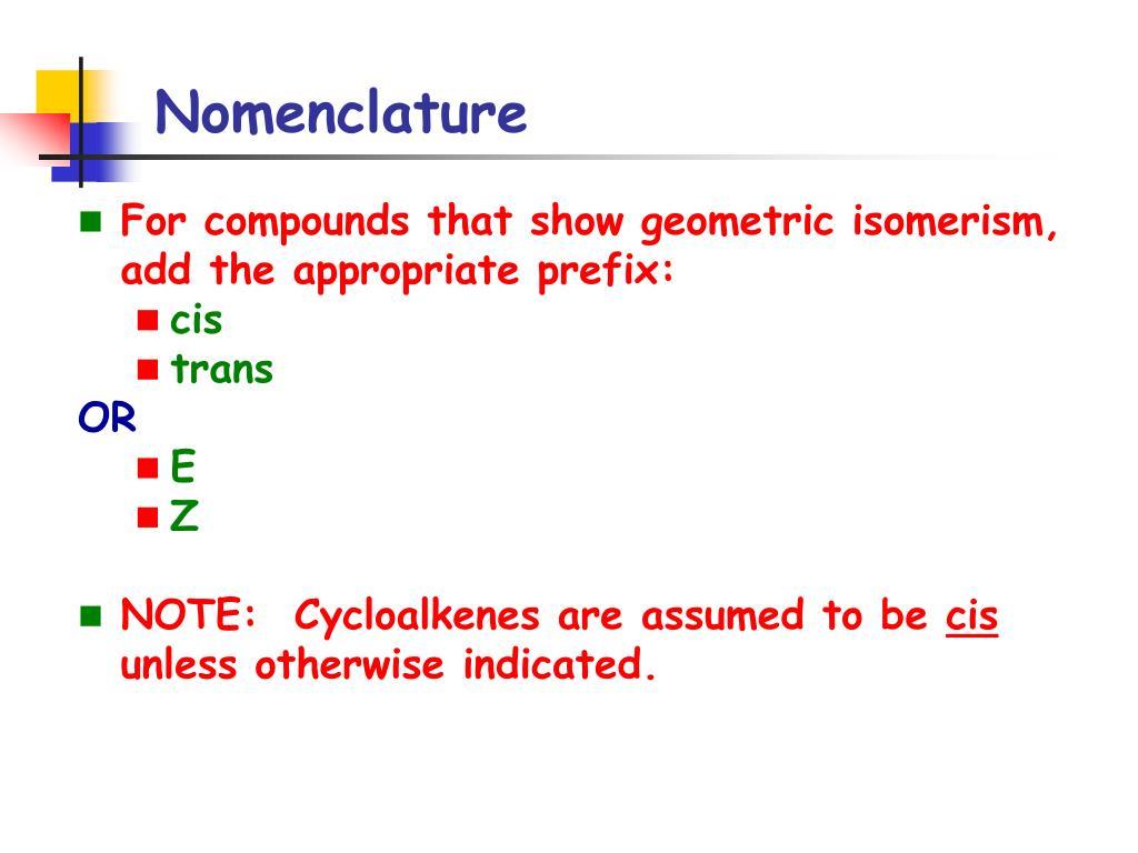 PPT - Alkenes and Alkynes PowerPoint Presentation - ID:5691599