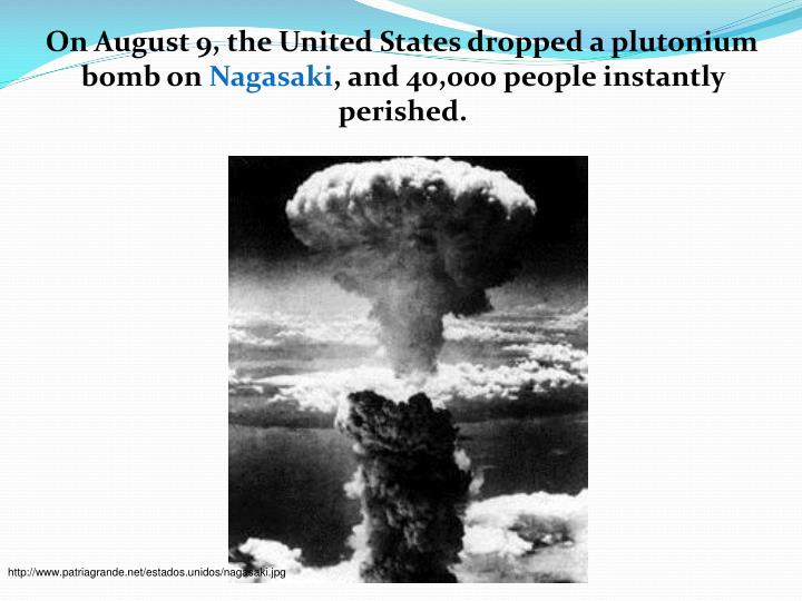 the atomic bomb trumans choice to end Truman's obvious choice using the atomic bomb on japan was the fastest way to produce a victory with the lowest cost in american lives.